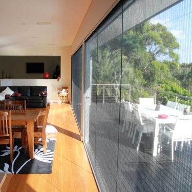 Retractable fly screens for Bi-fold doors or Sliding Stacker doors