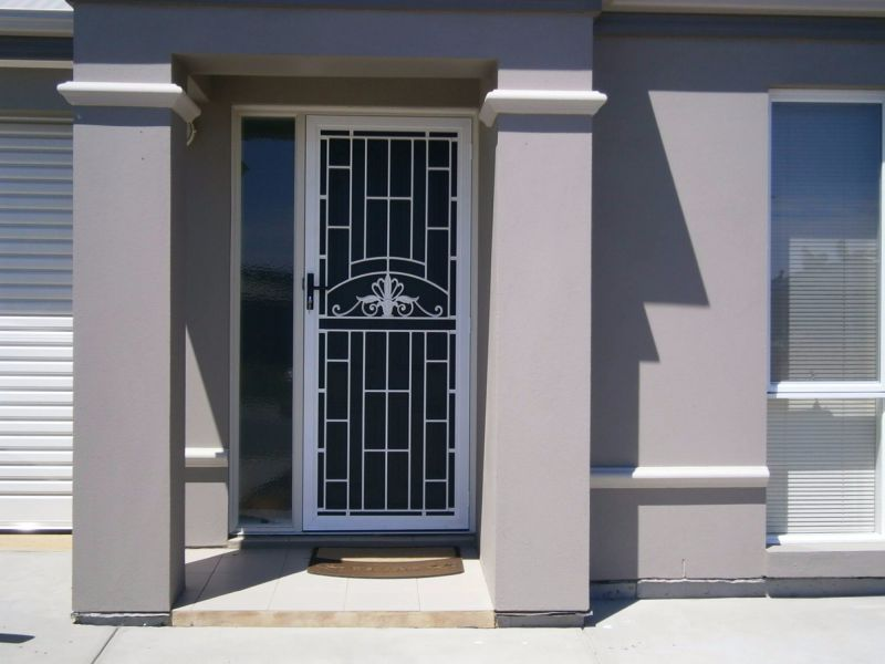 Decorative security doors can add designer style to your home