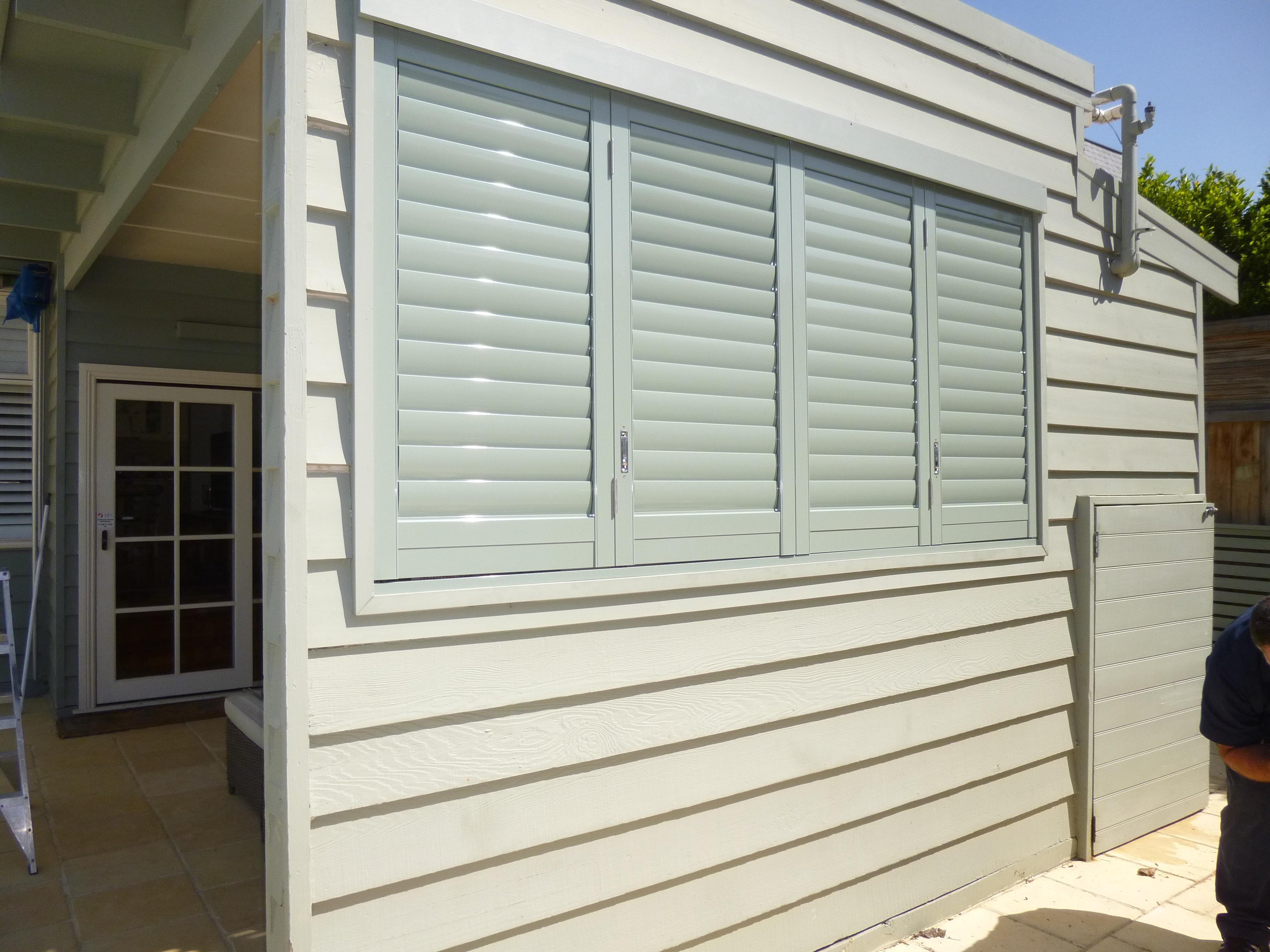 Aluminium shutters