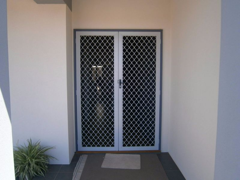 Diamond Grille security doors for affordable security