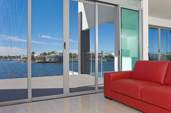Invisi Gard Security Screen Doors