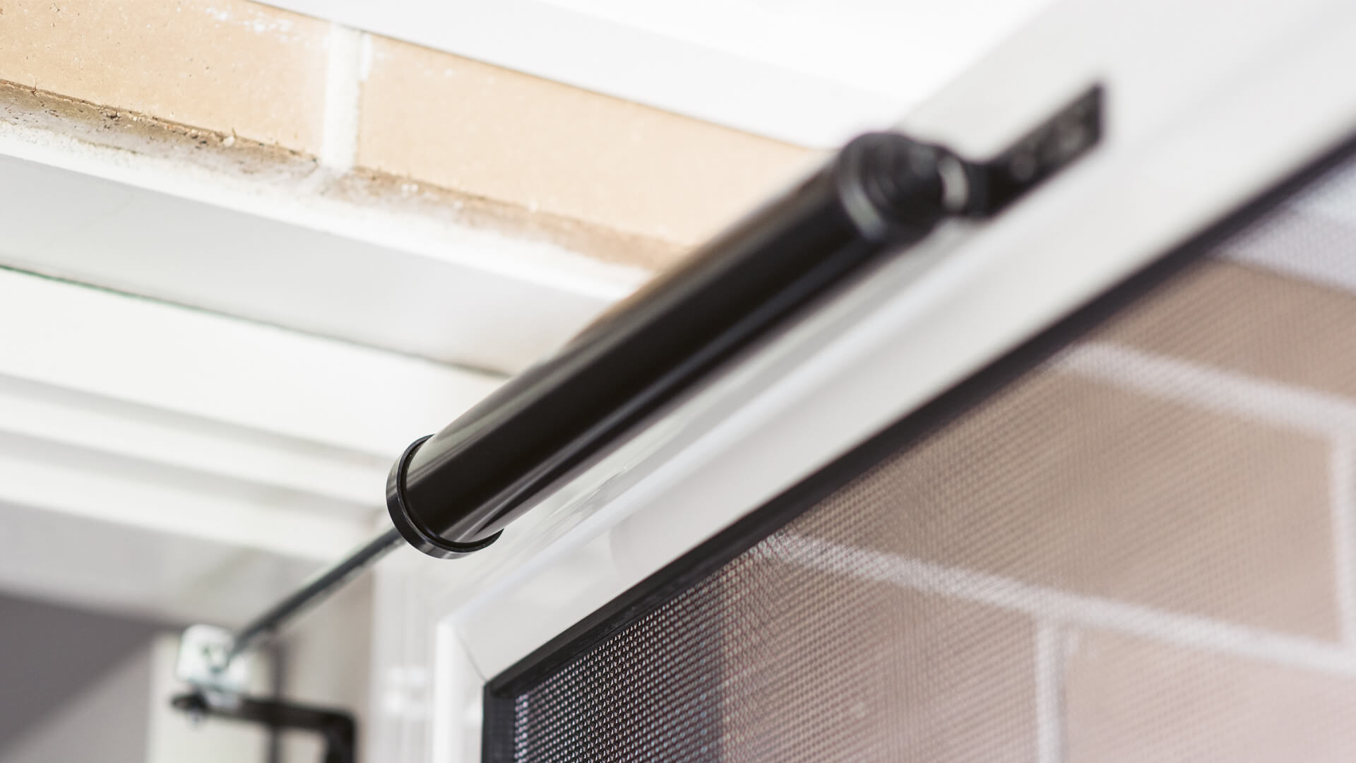 Door Closers help with smooth operation of hinged security screen doors