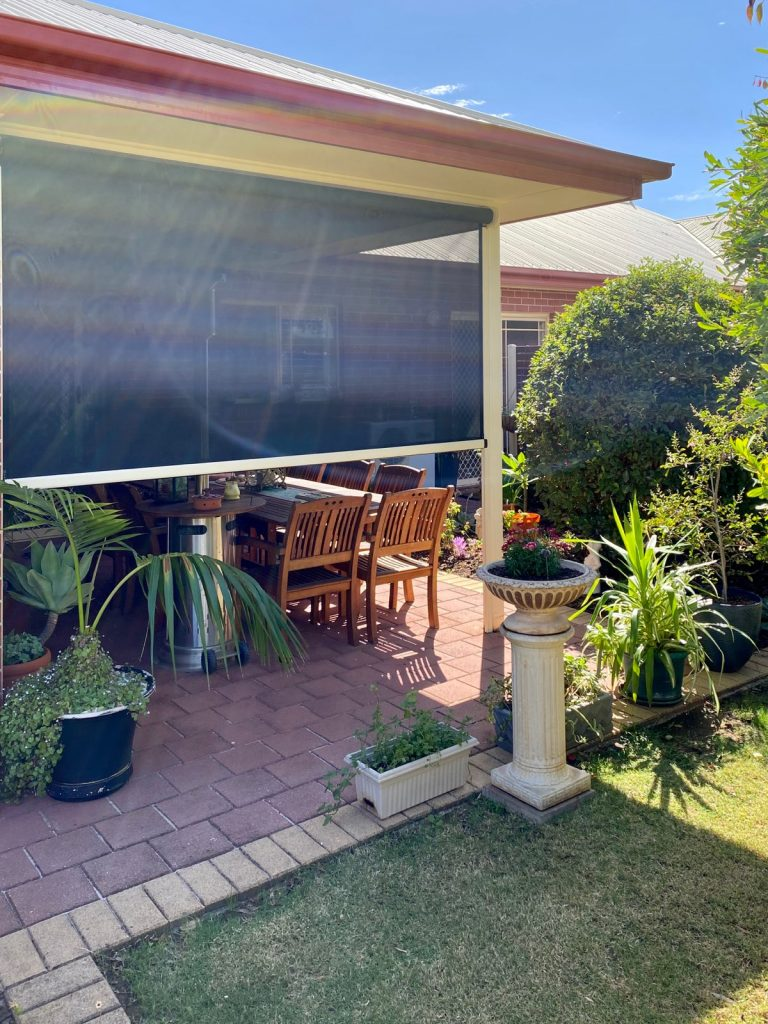 Ziptrak blinds by Your World Outdoor Blinds and Shutters
