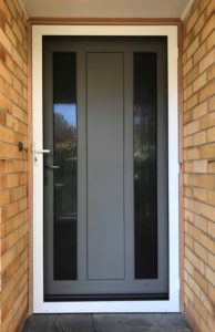 Invisi Gard Security Screen Door