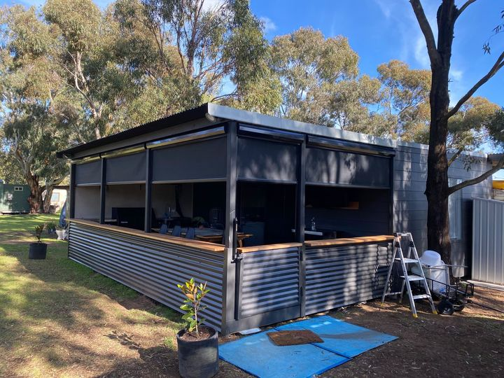 Ziptrak Outdoor Blinds - Mannum SA