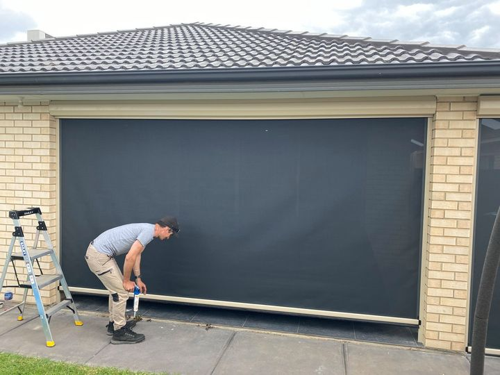 Ziptrak Outdoor Blinds - Parafield Gardens